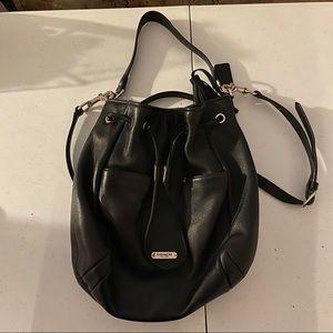 Coach Leather Drawstring Bucket Bag